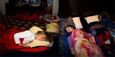 Sleepover: Dinosnore