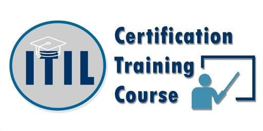 ITIL Foundation Certification Training in Regina