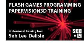 Flash Games and Papervision3D - 2 days of training
