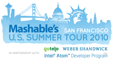 Mashable U.S. Summer Tour - San Francisco