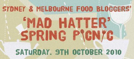 Sydney & Melbourne 'Mad Hatter' Spring Picnic