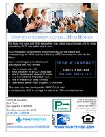 Things you must know before buying selling HUD properti...