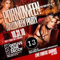 Pornoween 2010 at Bar 13 NYC Halloween Party