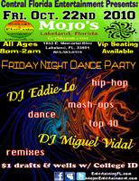 10.22.10 Friday Night Live Music w/ DJ Eddie Lo and DJ...