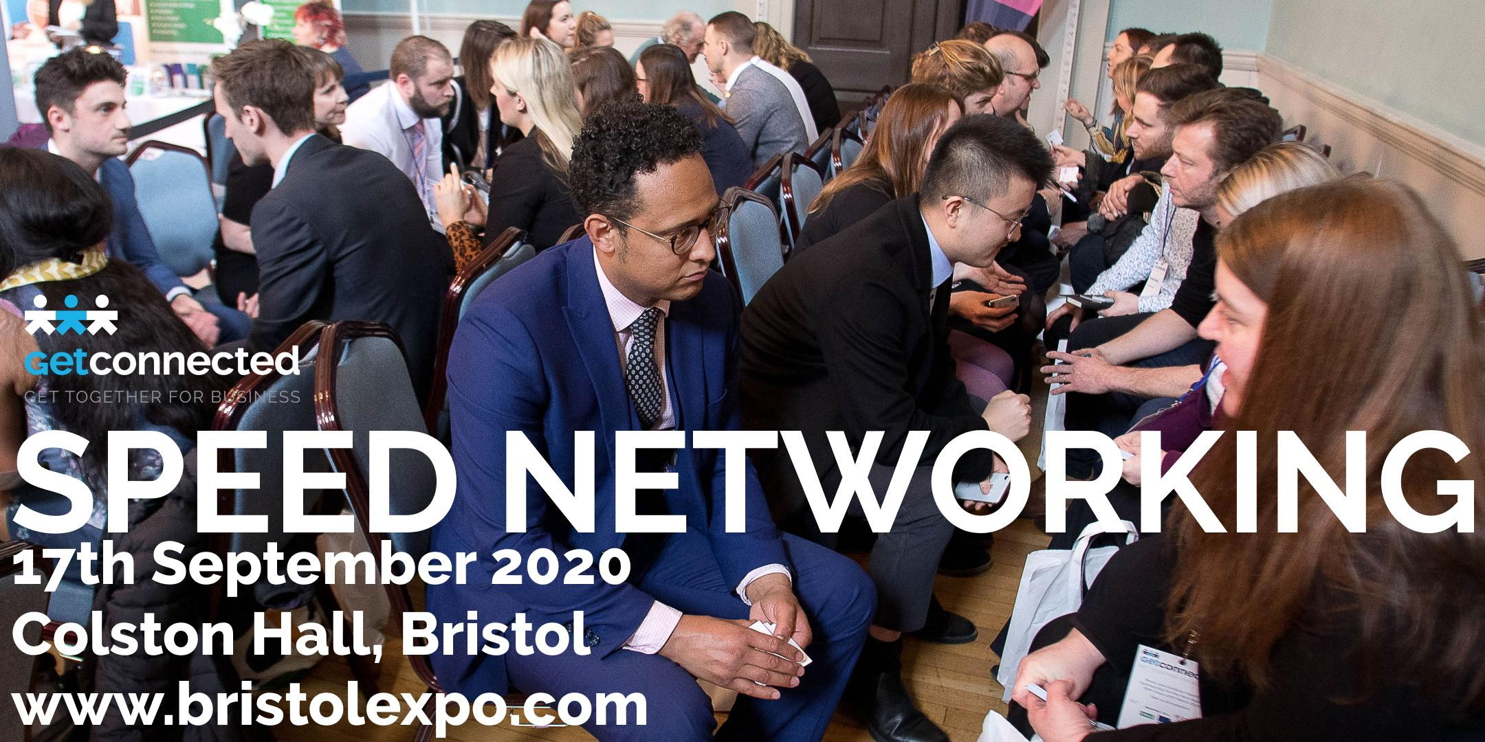 Speed networking at Business Expo Bristol