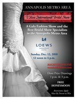 2011 International Bridal Show-Loews Annapolis Dec.12,...