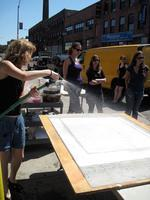 SIDEWALK PAPERMAKING! Back by popular demand!!!