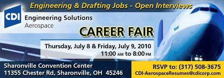 CDI-Aerospace Career Fair - Engineering & Drafting Jobs