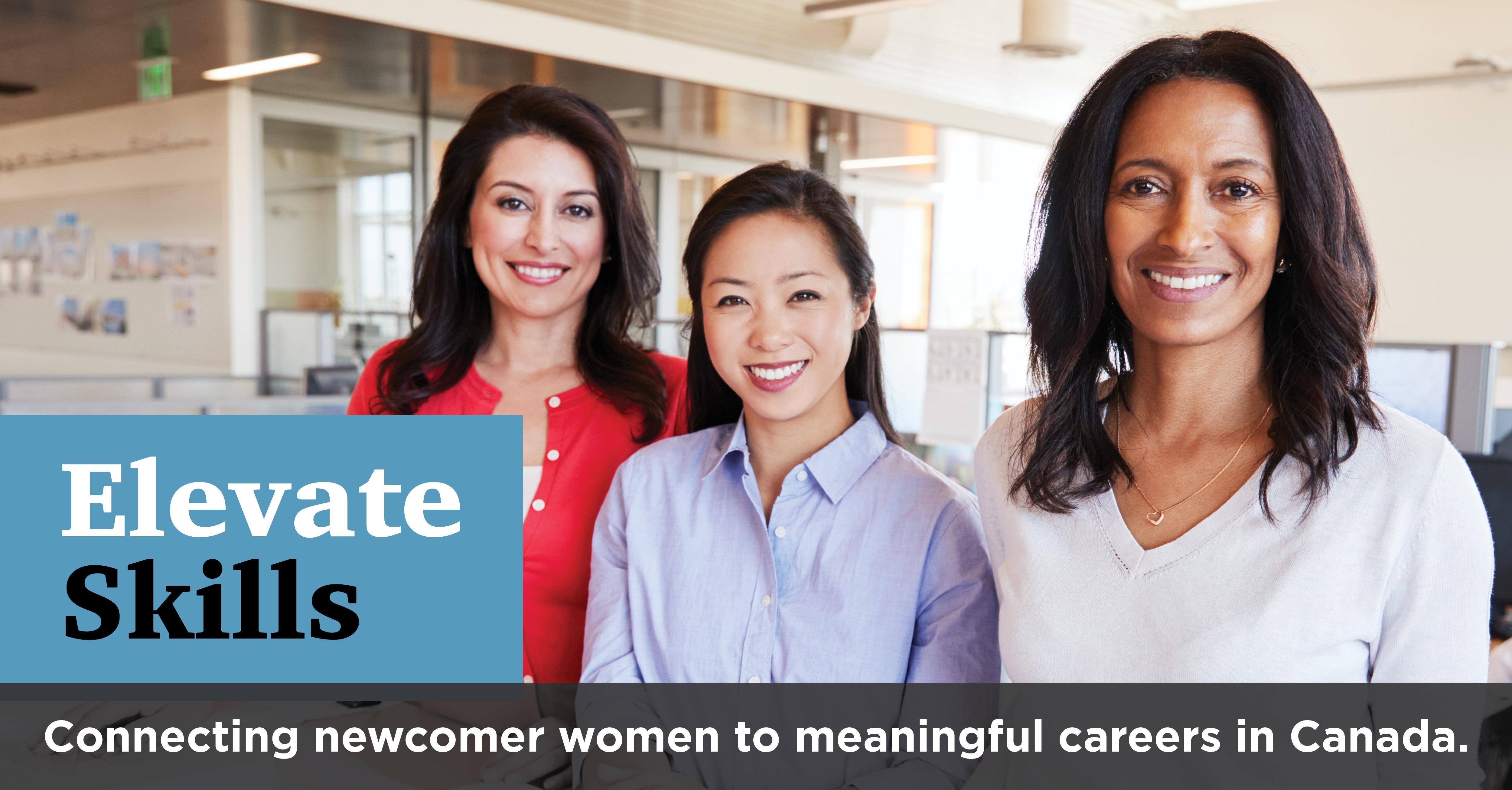 YWCA Elevate Skills | FREE Employment Program for Immigrant Women