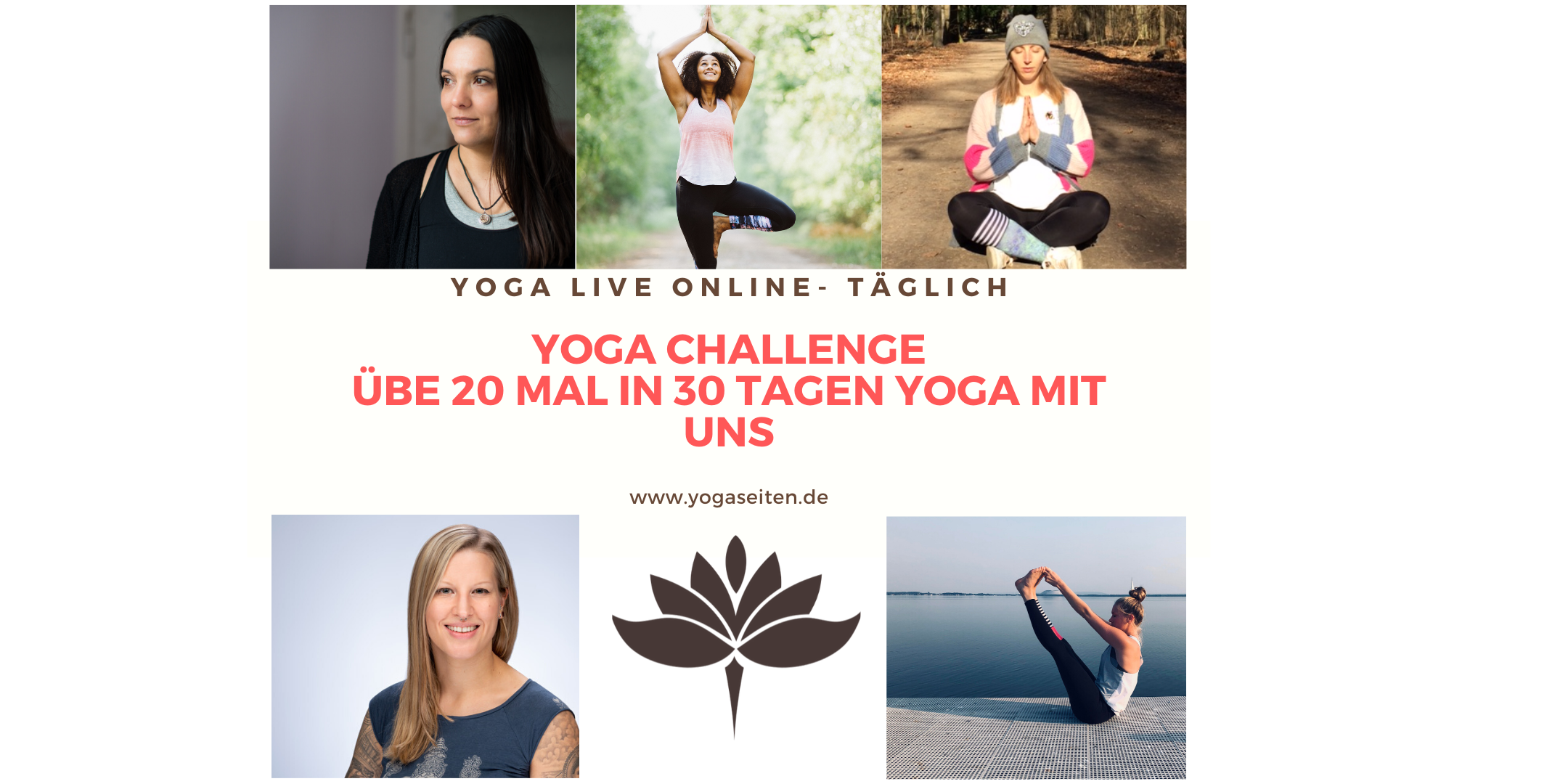 Yoga challenge - 20 mal Yoga in 30 Tagen