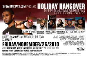 SHOWTIMESAYS.COM PRESENTS: HOLIDAY HANGOVER THE POST...