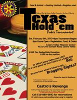 Charity No-Limit Texas Hold 'em Poker Tournament