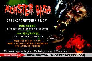 9th Annual Monster Bash Halloween Party