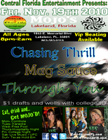 11.19.10 Friday Night Live Music w/ Through You, Mag...