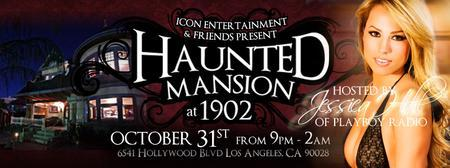 Haunted Mansion Party at 1902