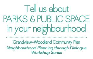 Neighbourhood Planning through Dialogue: Parks &...