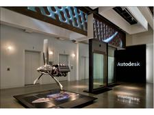 The Autodesk Gallery logo