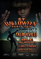 TALIB KWELI DJ SET HALLOWEEN OCT 31st SUNDAY