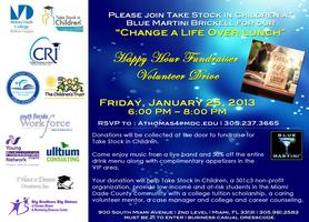 TAKE STOCK IN CHILDREN          Happy Hour Fundraiser...
