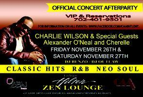 CHARLIE WILSON: special guests ALEXANDER O'NEAL AND...