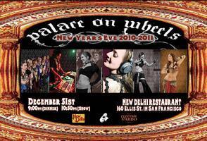 Palace on Wheels - Electric Vardo NYE - Remaining Show...