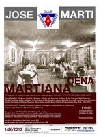 JOSE MARTI-CENA (DINNER) MARTIANA