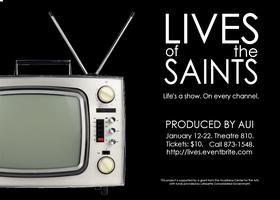 AUI presents David Ives' LIVES OF THE SAINTS Dessert and a...