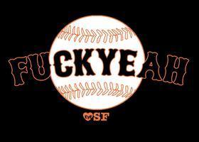 F_CK YEAH tee-shirt by EyeHeartSF
