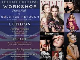 High End Retouching Photoshop Workshop with Pratik Naik