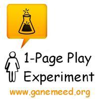 GAN-e-meed Theatre Project presents The 1-Page Play...