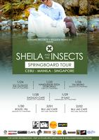 SHEILA & THE INSECTS 2013 SPRINGBOARD TOUR