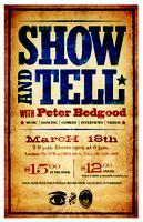 SHOW AND TELL  with Peter Bedgood