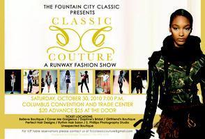 Fountain City Classic Couture Fashion Show