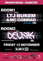 LTJ BUKEM + MC CONRAD & DEVNIK + PONY LICKS + DJ SKONE...