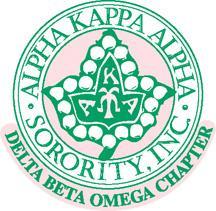 Alpha Kappa Alpha - Delta Beta Omega Chapter logo