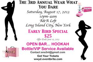 The 3rd Annual Wear What You Dare Lingerie Liaison
