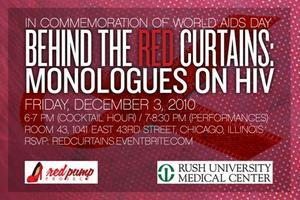 Behind the RED Curtains: Monologues on HIV