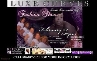 "LUXE Curves Fashion Show ""Lust, Love and Live"""