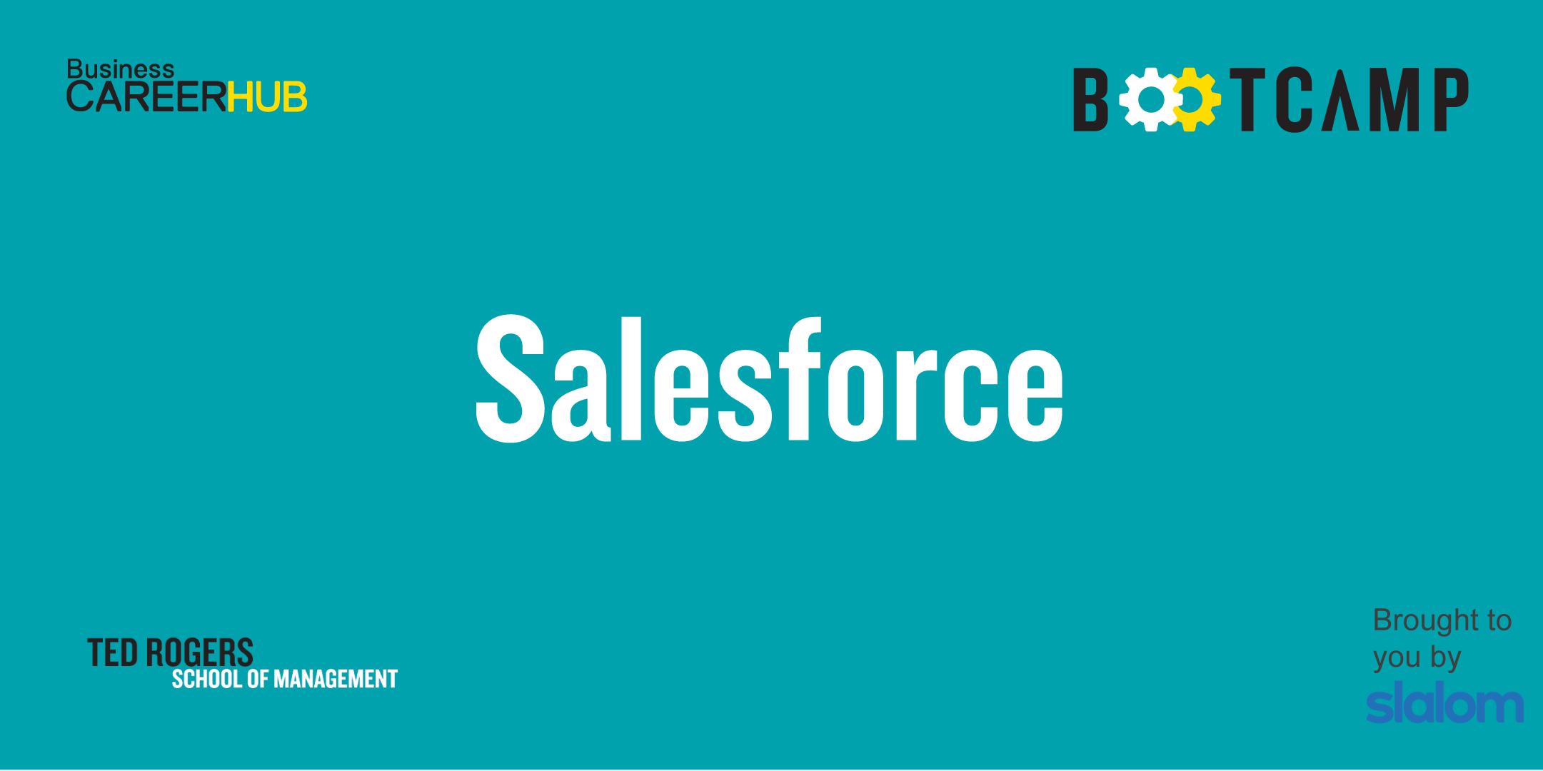 [VIRTUAL] Salesforce by Slalom Bootcamp - Level 3