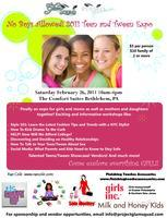 No Boys Allowed Teen/Tween Expo for Girls and Moms
