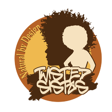 Twisted Sistas, Natural by Design logo