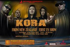 """KORA""  Live in San Diego"