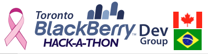 Blackberry Hackathon against Cancer