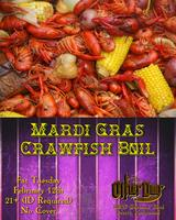 Mardi Gras Crawfish Boil