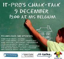 Chalk-Talk 9 December 19u00