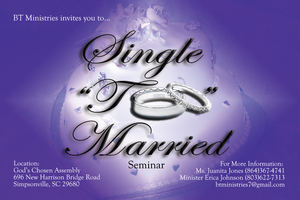 "Single ""Too"" Married Seminar"