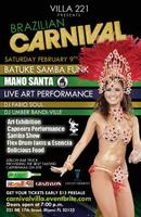 Brazilian Carnival in Miami @ VILLA 221