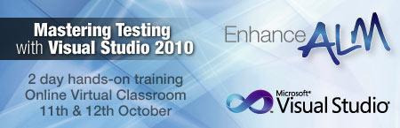 Mastering Testing with Visual Studio 2010 - WLG/Online