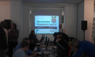 Manchester Jam IX (Girl Geeks visit Raspberry...