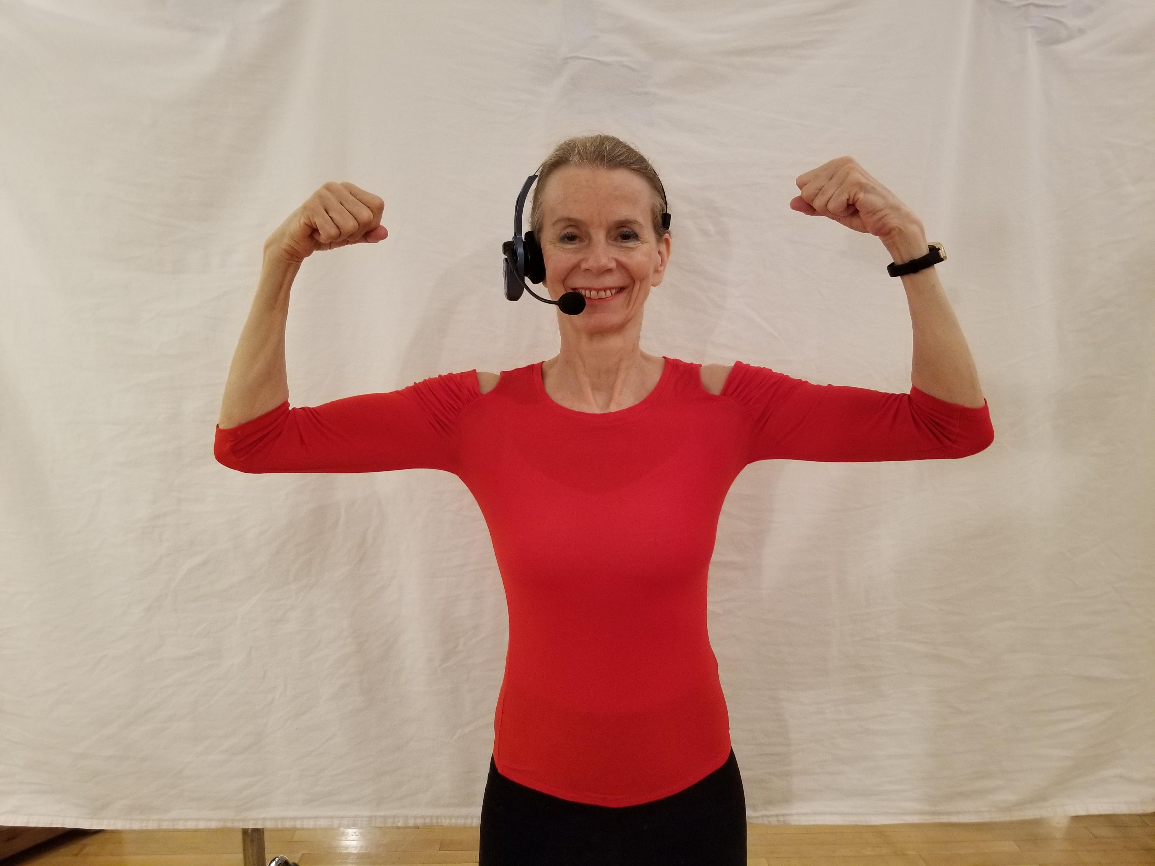 Online Exercise Class Mon, Wed, Friday 10-11am: Cardio, HIIT, Light Weights (thru Zoom.us.com)